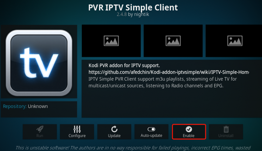 5 2 1024x592 - How to Setup iptv on KODI